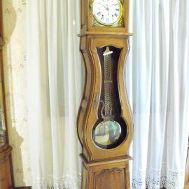 Horloge comtoise Lydie noyer massif