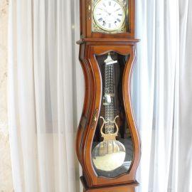 Horloge comtoise Manon merisier semi-massif