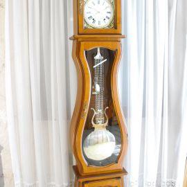 Horloge comtoise Véronique merisier