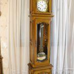 Horloge comtoise Françoise chêne massive -