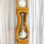 Horloge comtoise Julie merisier massif