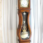 Horloge comtoise Manon merisier semi-massif -
