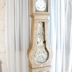 Horloge comtoise peinte t153