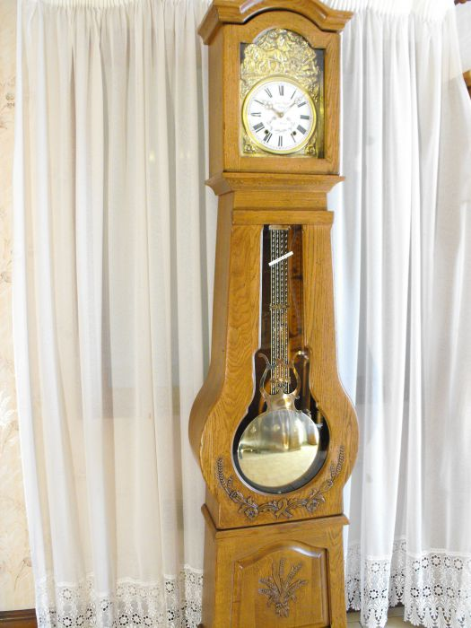 horloge comtoise ch ne massif t152 vente achat rigolot jacques. Black Bedroom Furniture Sets. Home Design Ideas