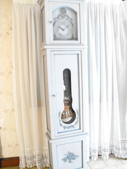 Horloge Comtoise Mod 232 Le Unique Ch 234 Ne Massif Peinte Vente